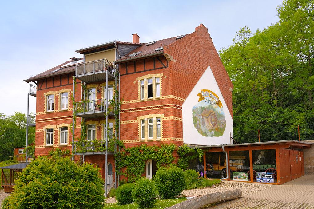 hüttendorf in eberstedt Thüringen