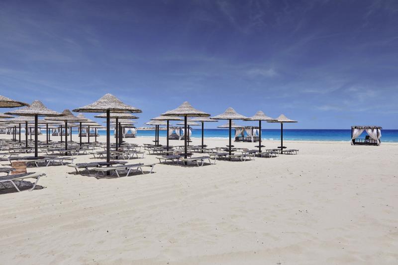 Ägyptische Mittelmeerküste das Jaz Crystal Resort mit direkter Strandlage