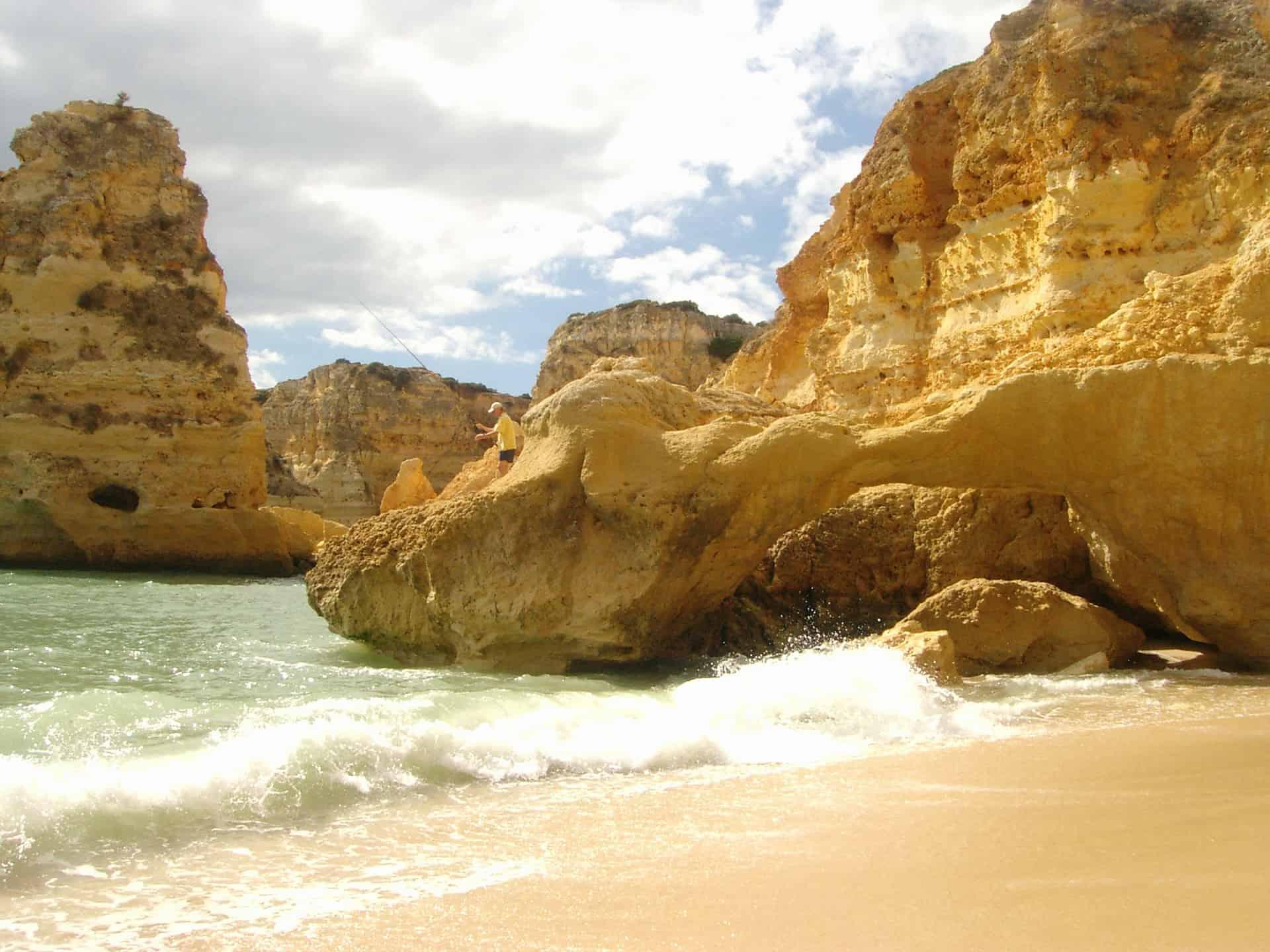 An der Algarve soll der schönste Strand Euroas sein - Portugal Urlaub