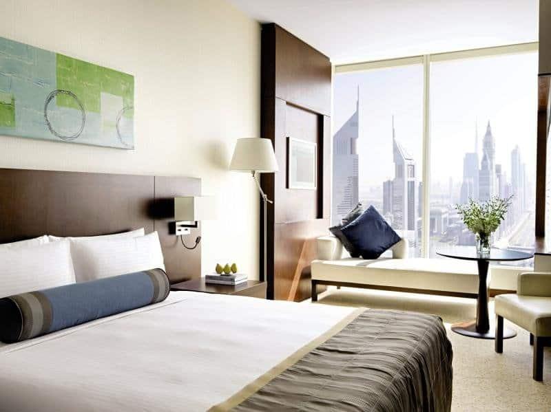 Auf Höchsten Etagen schläft es sich am besten im Voco Dubai 5 Sterne Hotel
