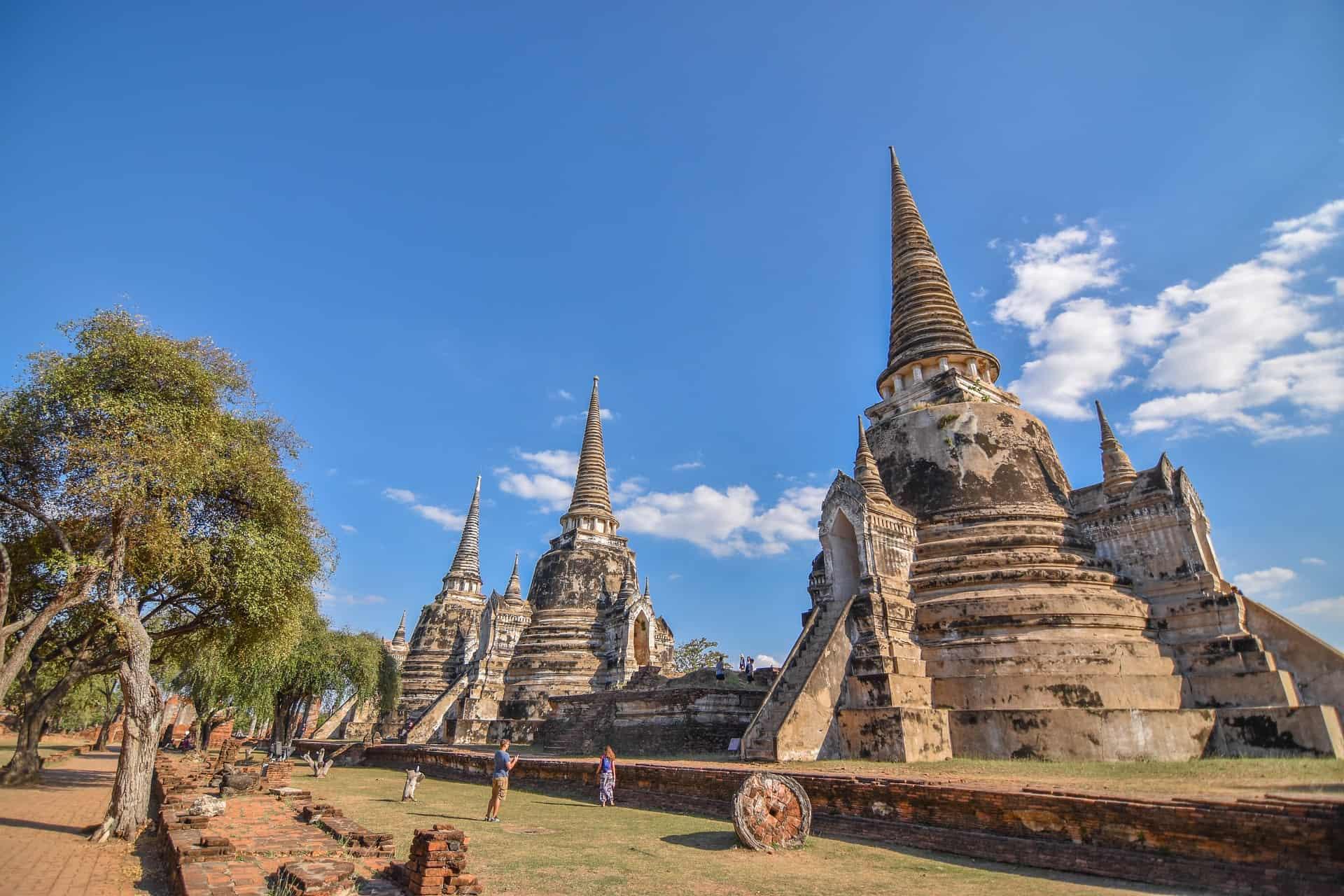 Ayutthaya das alte historische Bangkok