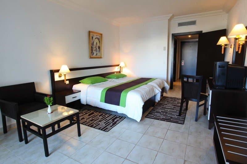 Beispiel Zimmer während des all Inklusive Urlaub in Tunesien