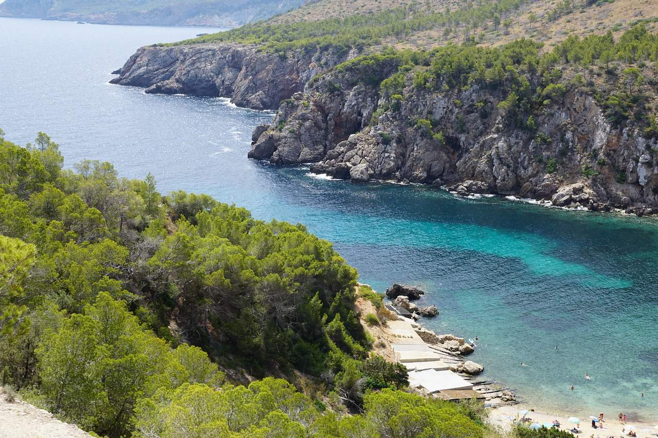 Cavallet Beach - Buchten , Dünenlandshaft und Pinien