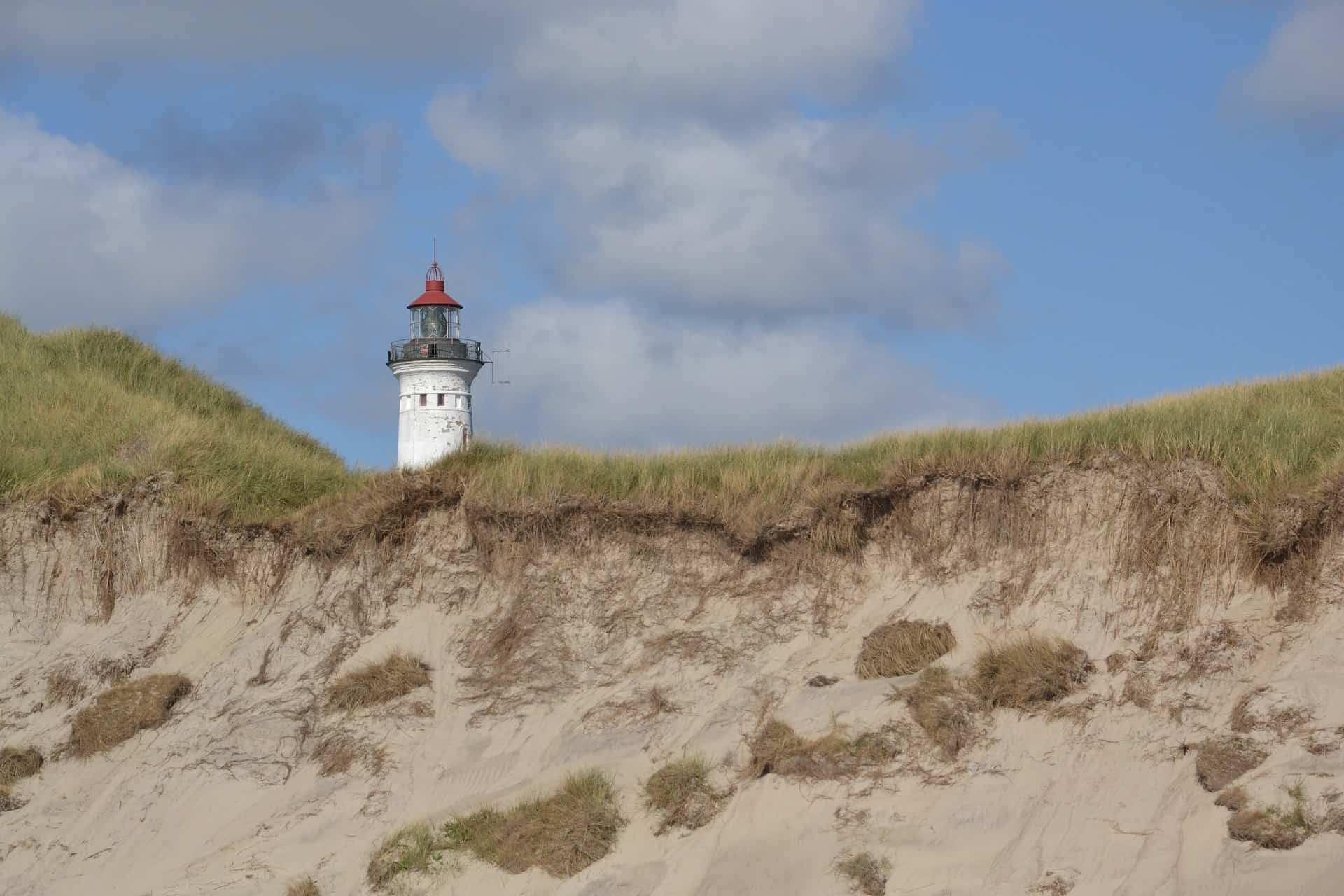 Dänemark Urlaub Leuchtturm in Ringkobing