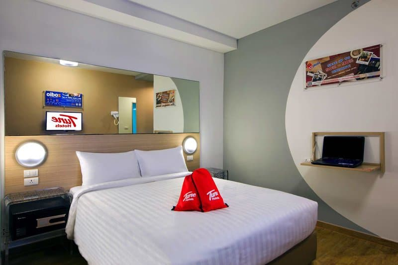 Das gemütliche Hotel am Patong Beach - die Party Promenade von Phuket - Zentrale Lage