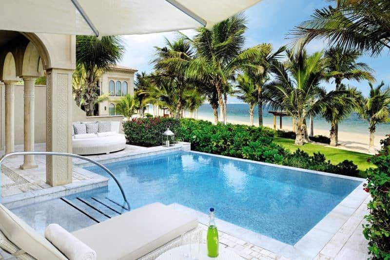 Exklusiver Luxus One&Only The Palm Glückshotel Dubai