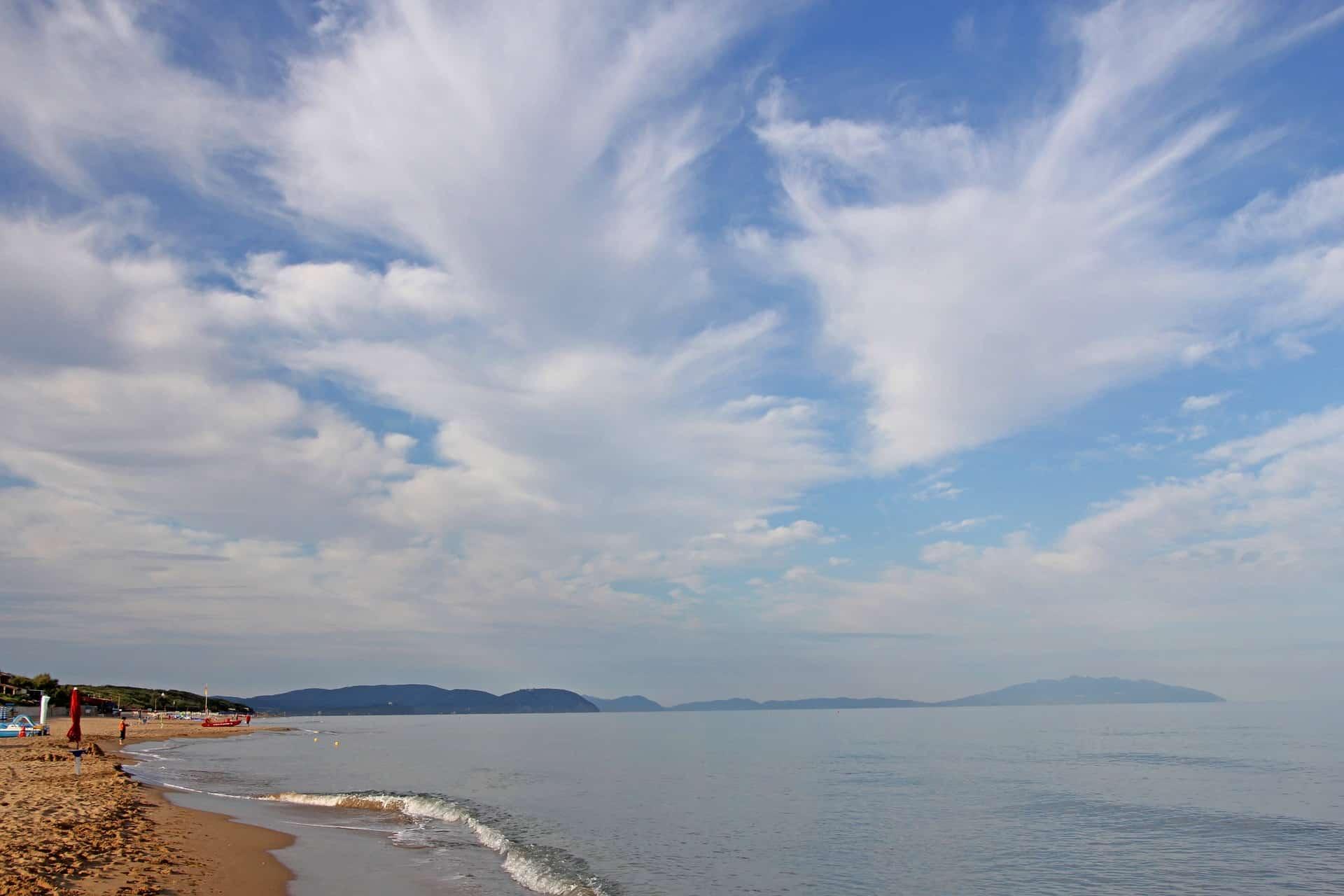 Follonica - Camping am Meer in Italien