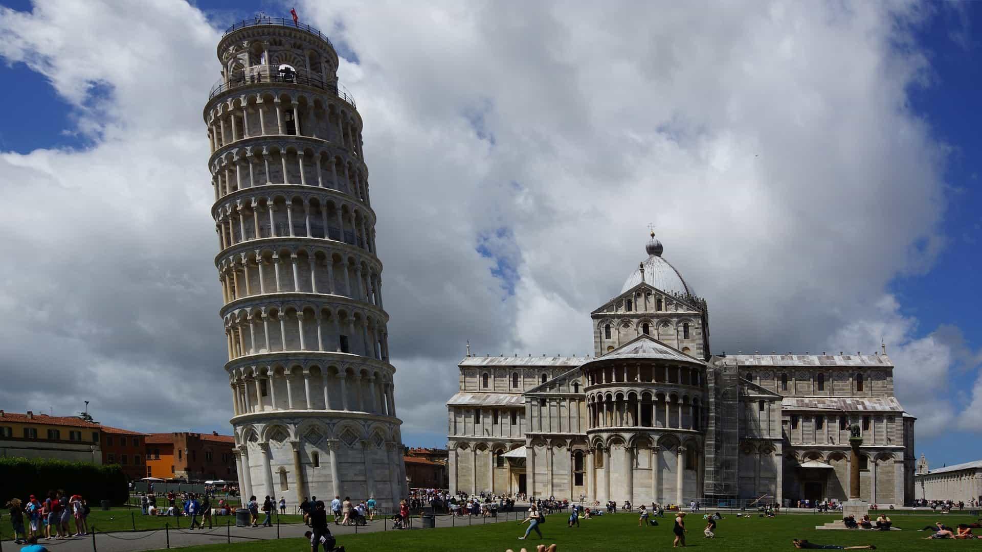 Glamping in Pisa ist auch möglich etwas ablegener von dem Zentrum