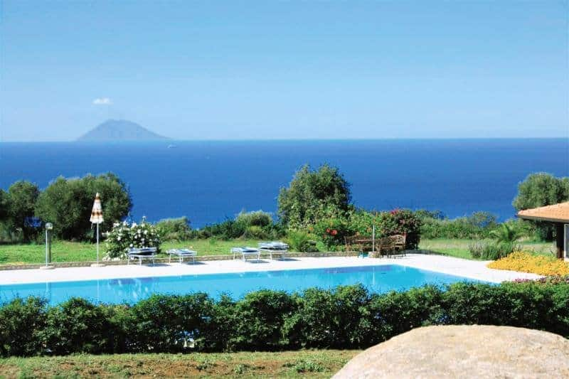 Glückshotel Kalabrien - Ninea Agriturismo 3 Sterne Hotel bei San Nicolo di Ricadi
