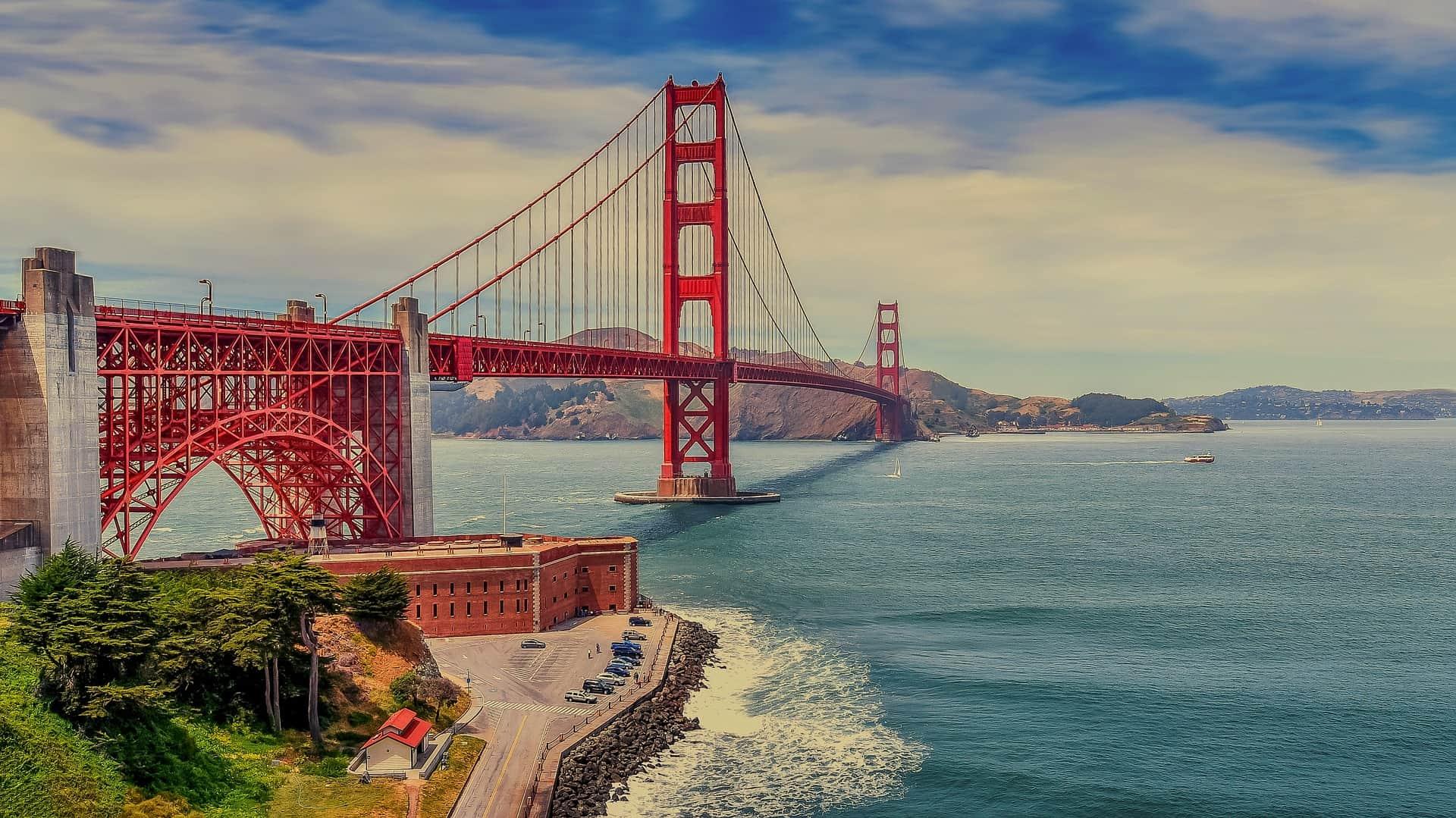 Golden Gate Bridge in San Francisco - Wir empfehlen Selbstfahrer USA Rundreisen günstig zu buchen