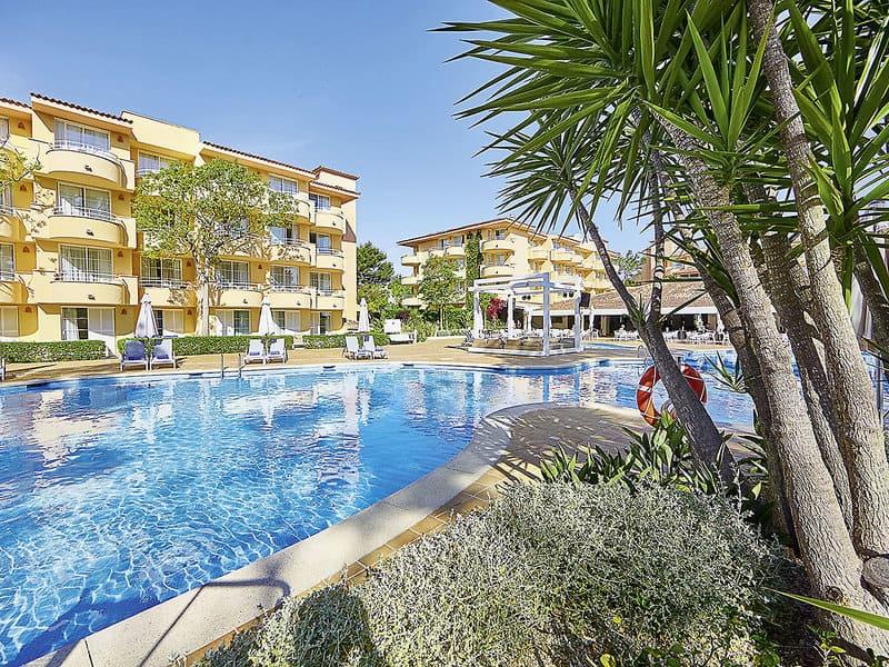 Hotelanlaga 4,5 Sterne in Spanien auf der Insel Palma de Mallorca