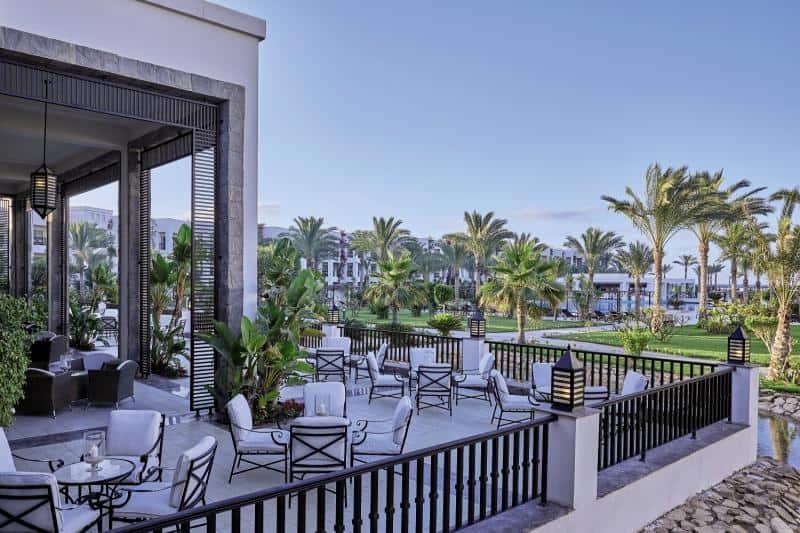 Hotelanlage im Norden Ägyptens