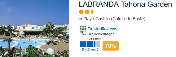 LABRANDA Tahona Garden Playa Castillo Caleta de Fuste auf Fuerteventura