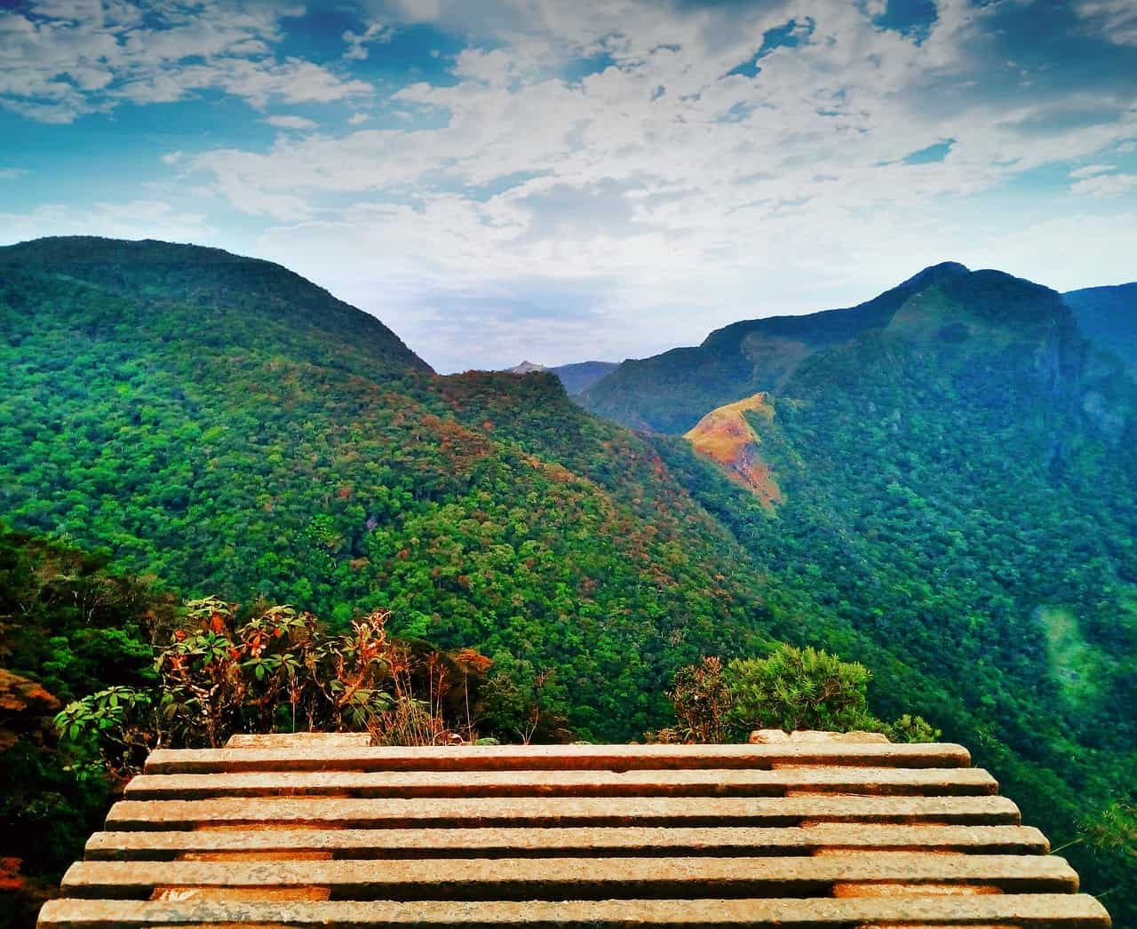 Landschaft von Nuwara Eliya
