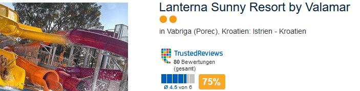 Lanterna Sunny Resort by Valamar das FerienLanterna Sunny Resort by Valamar das Feriendorf bei Porecdorf bei Porec