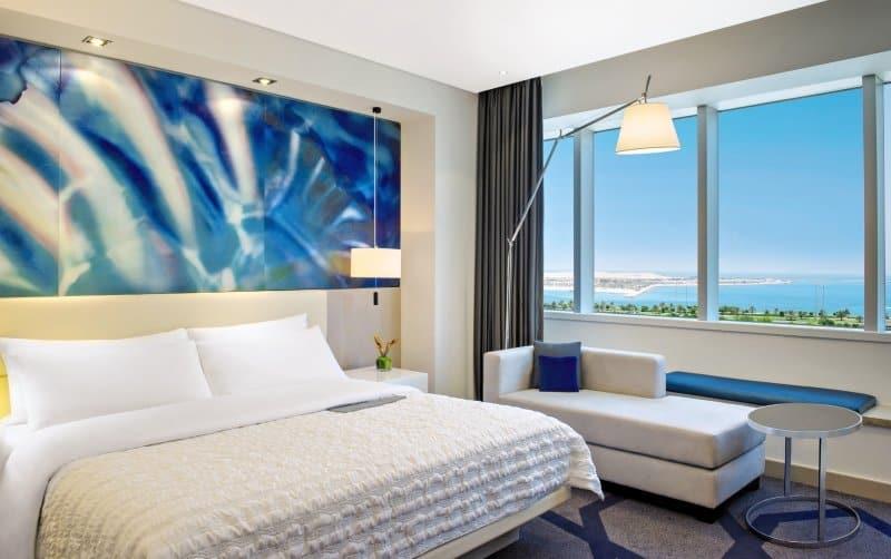 Le Royal Meridien Abu Dhabi Beispzielzimmer im Roullete Hotel