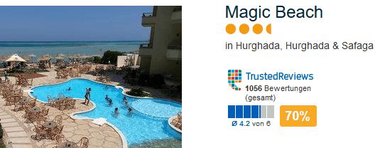 Magic Beach das beste 3,5 Sterne Hotel im Land