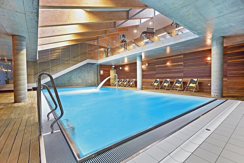 Medical Spa bereich in Kolberg im 4 Sterne Sand Hotel