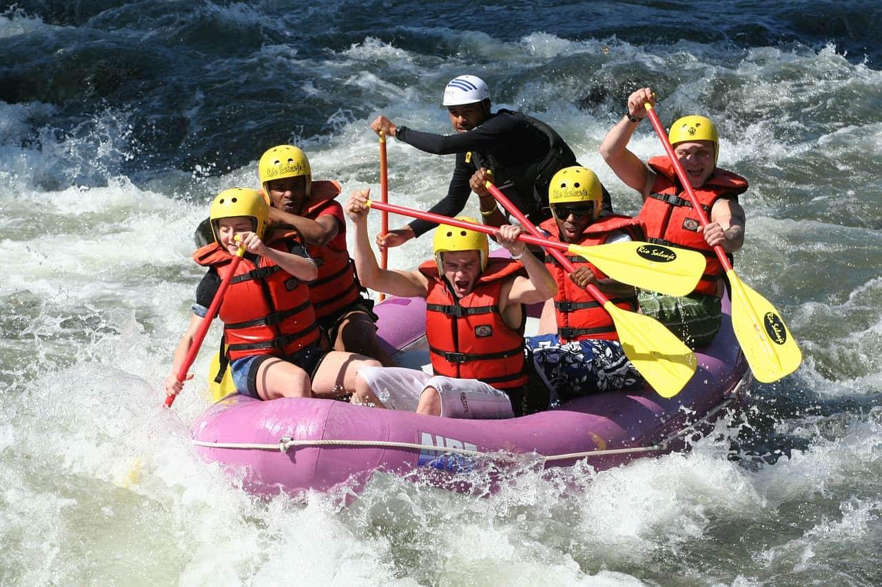 Mittelrhein Rafting nur 39,00€ Rafting Kaub - Schlauchboot