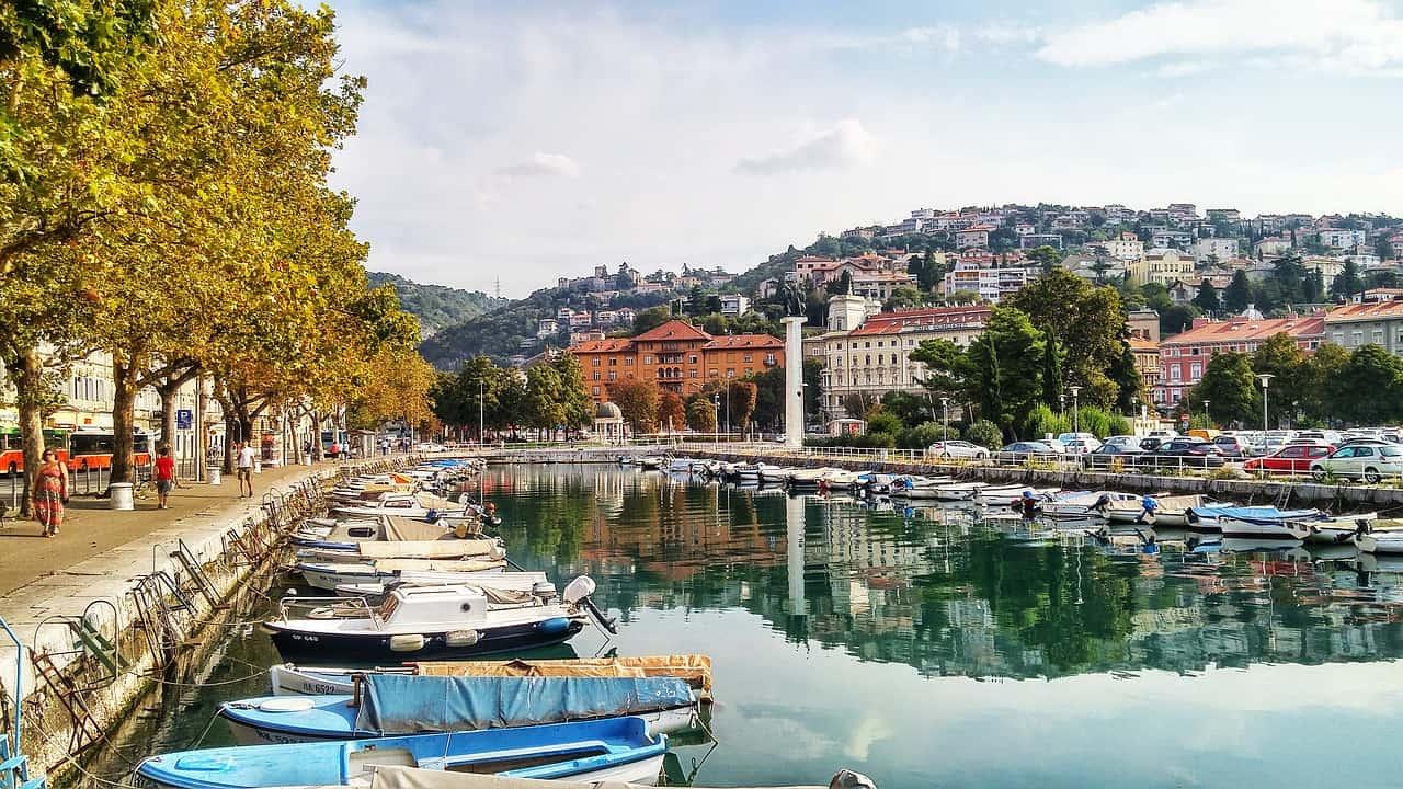 Nur 9,99€ Flüge nach Rijeka hin und zurück - der Hafen
