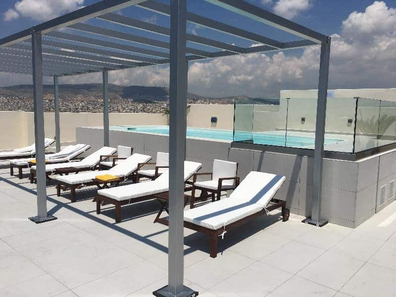 Piraeus Theoxenia 5 Sterne Hotel Rooftop