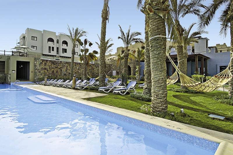 Poolanlage vom Hotel in Ägypten - Ägypten Deals zum Bestpreis