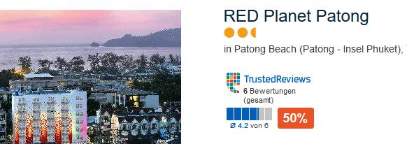 RED Planet Patong das günstigste Hotel sollte reichen du bleibst eh kaum auf dem Zimmer