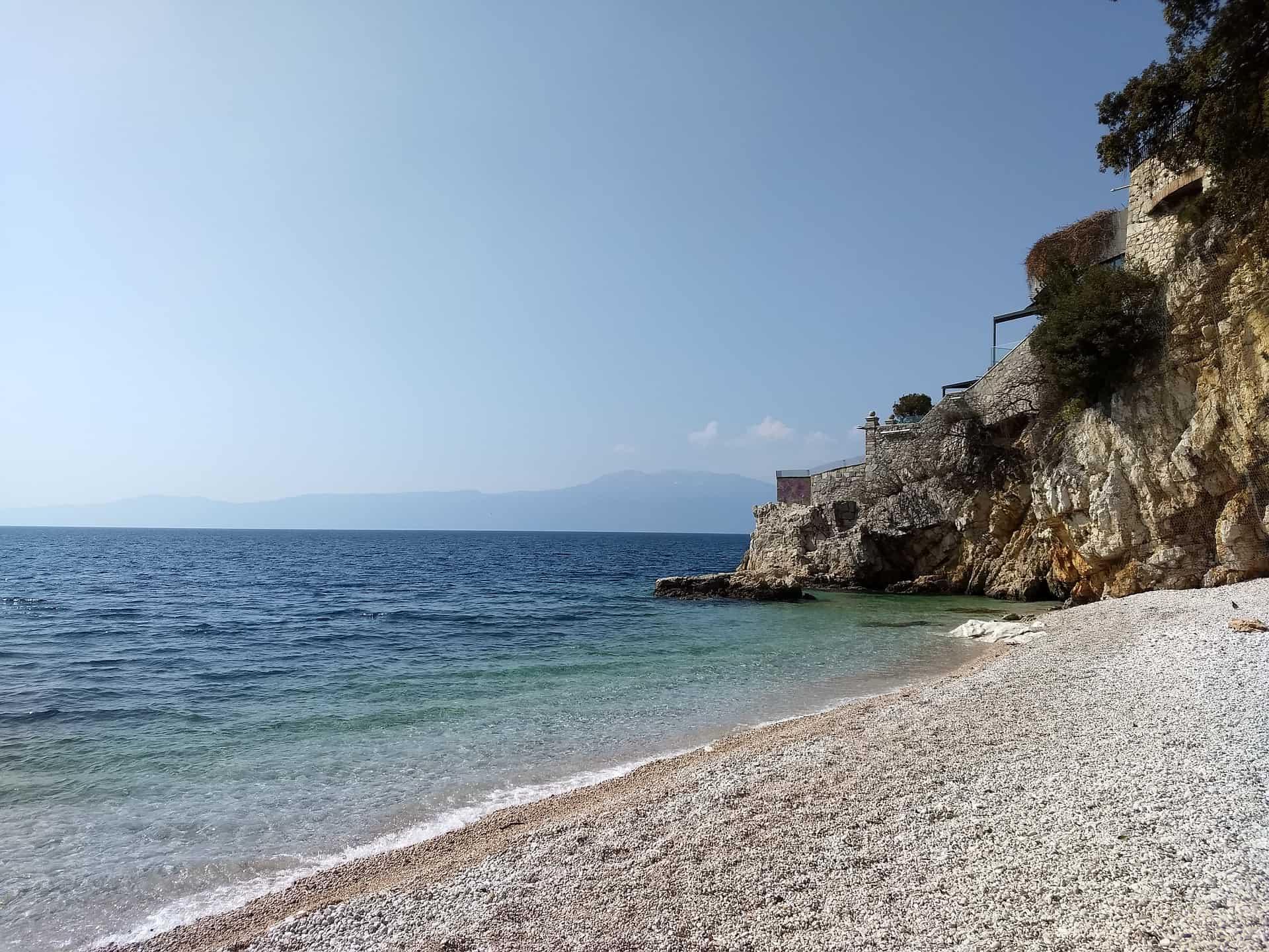 Rijeka Flug auf die Insel Krk