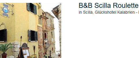 Roulette Reise nach Sizilien ein Glückshotel in Kalabrien erwartet euch gewählt vom Veranstalter