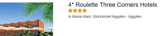 Roulette Reisen - Glückshotel Marsa Alam