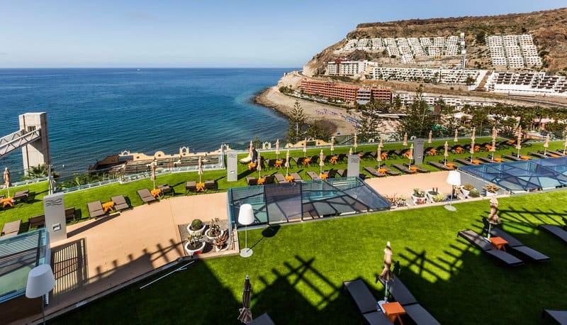 Roulettereise Spanien Riviera Vista Playa del Cura im Ort POuerto Rico auf der Insel
