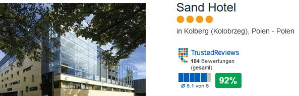 Sand Hotel Kolberg am Ostseebad