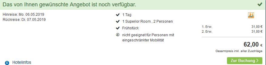 Screenshot Deal Voco Hotel - 4,5 Sterne ab 31,00€ die Nacht Dubai