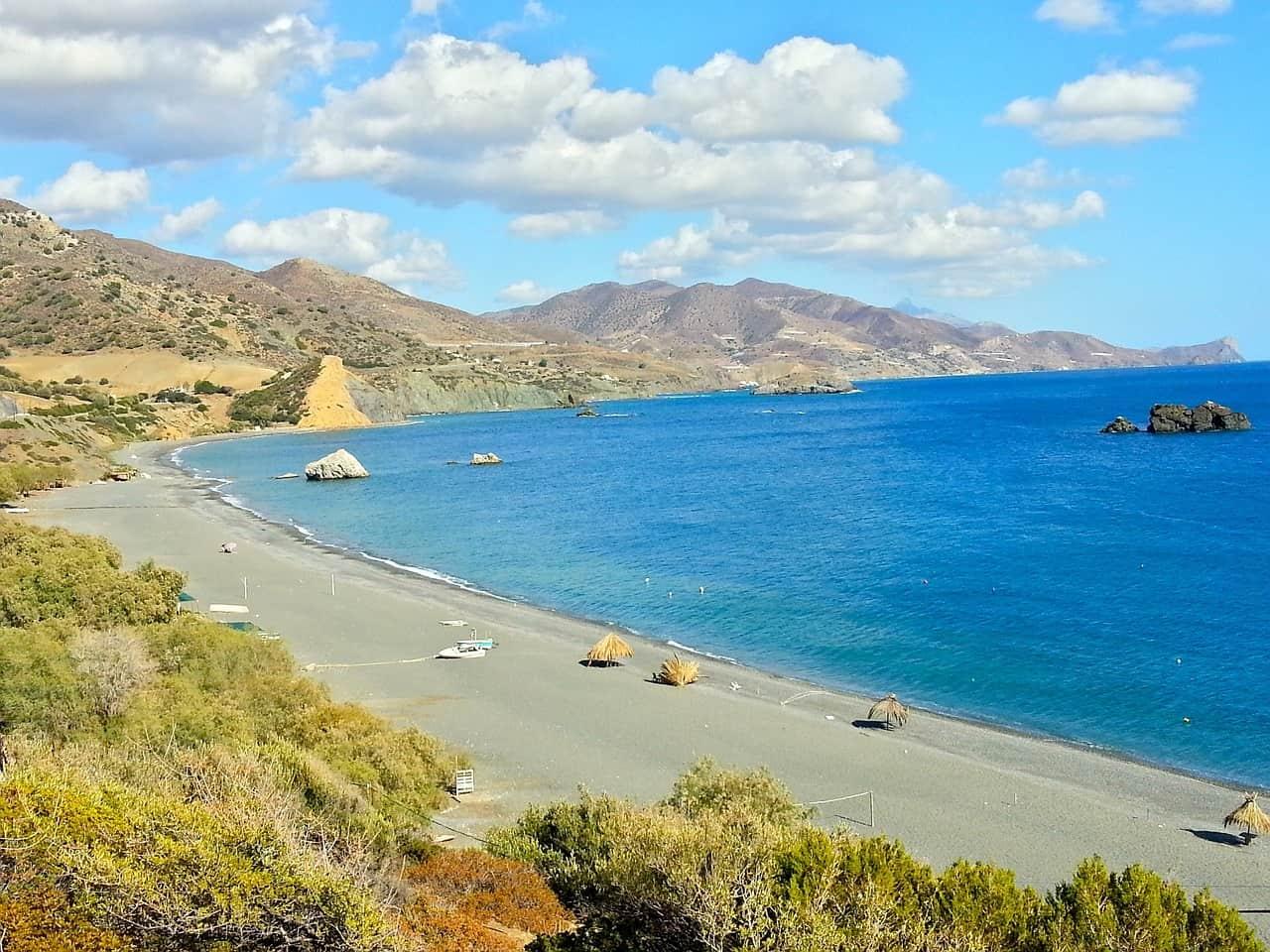 Selena Gebirge Malia Kreta Urlaub - Familien