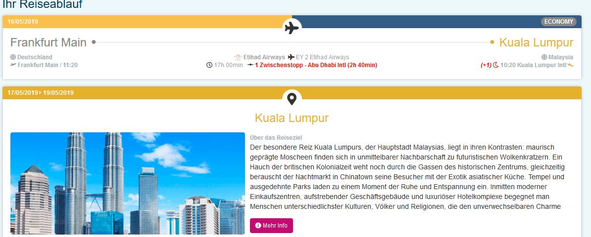 Spring Sale Kuala Lumpur Langkawi - Malaysia Rundreisen mit Suntrips