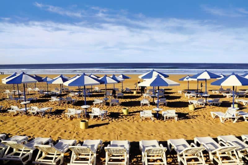 Strandabschnitt am LABRANDA Les Dunes D'or