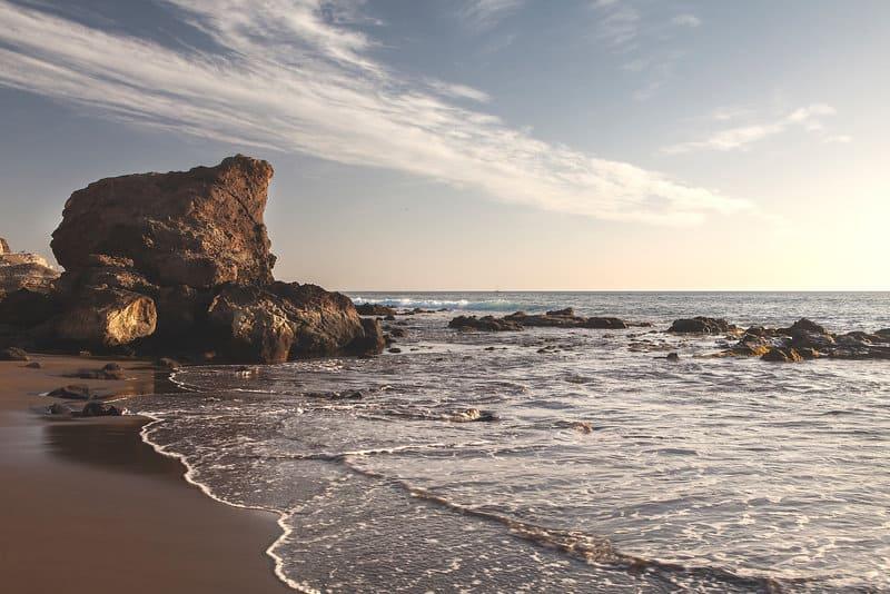 Strandabschnitt von der Riviera Vista bei päärchen Buchungen 3,5 Sterne Hotel