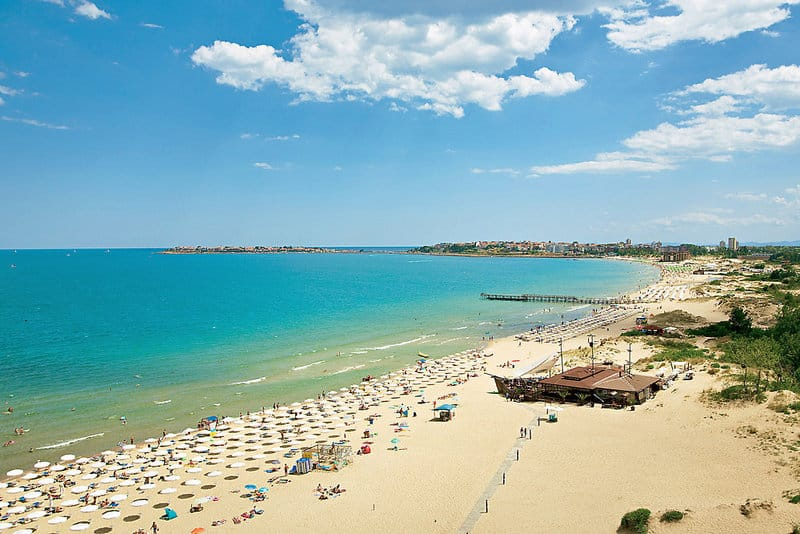 Sunny Beach Bulgarien - Urlaub am Sonnenstrand bei Burgas & Nessebar