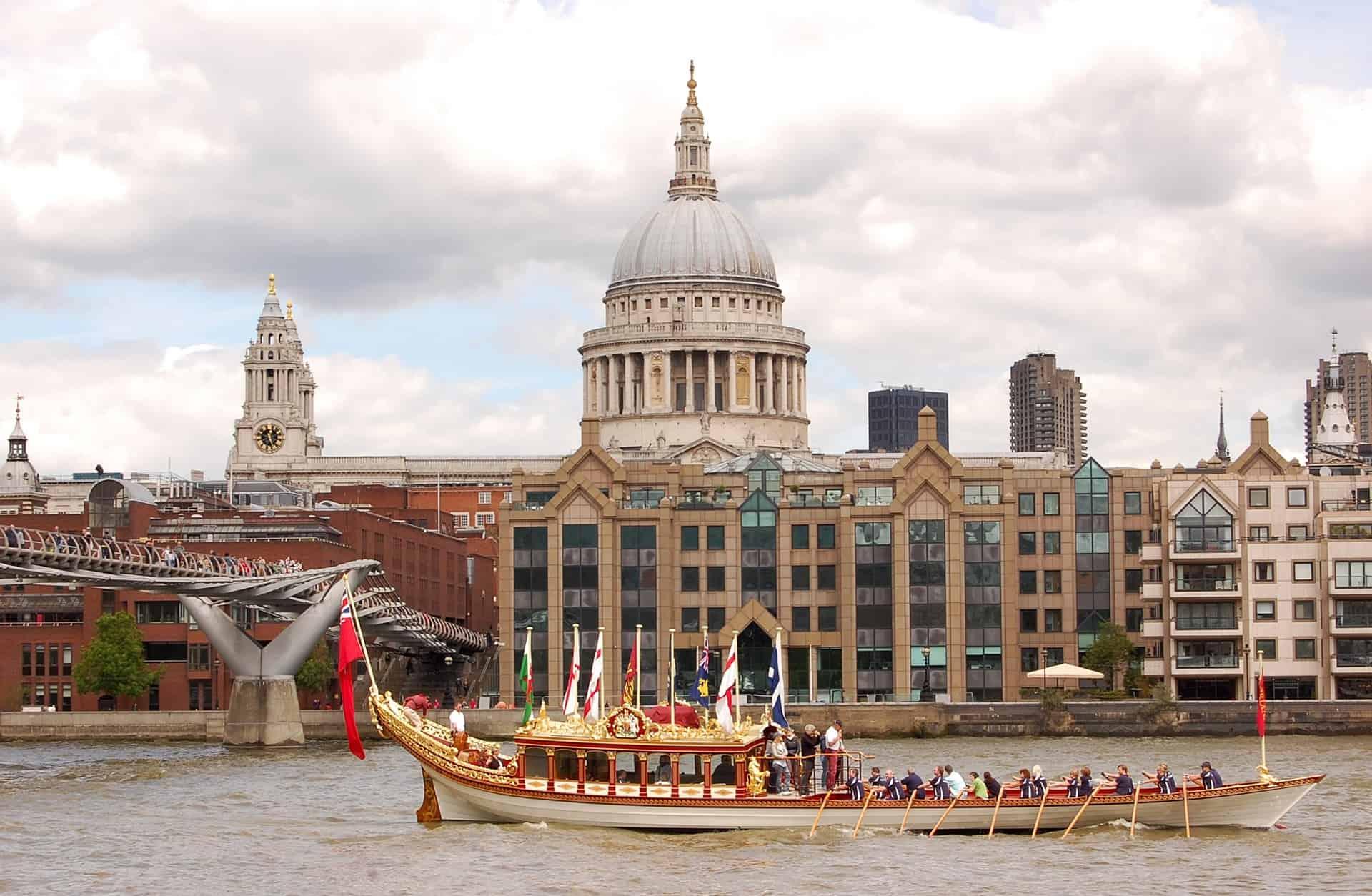 Ticket für Touren in London hier buchen - Themse Bootsfahrt