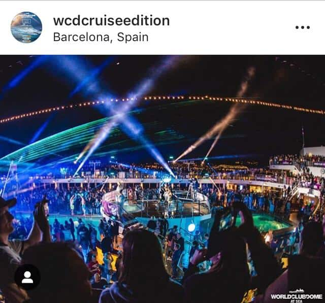 WCDCRUISEEDITION Screenshot - Instagram