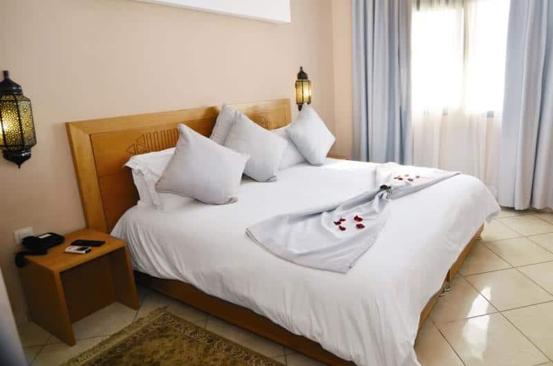 Wohnbeispiel in einem 4 Sterne Hotel in dem Fall das Atlantic Palm Beach - habt euch nicht so wir sind in Afirka