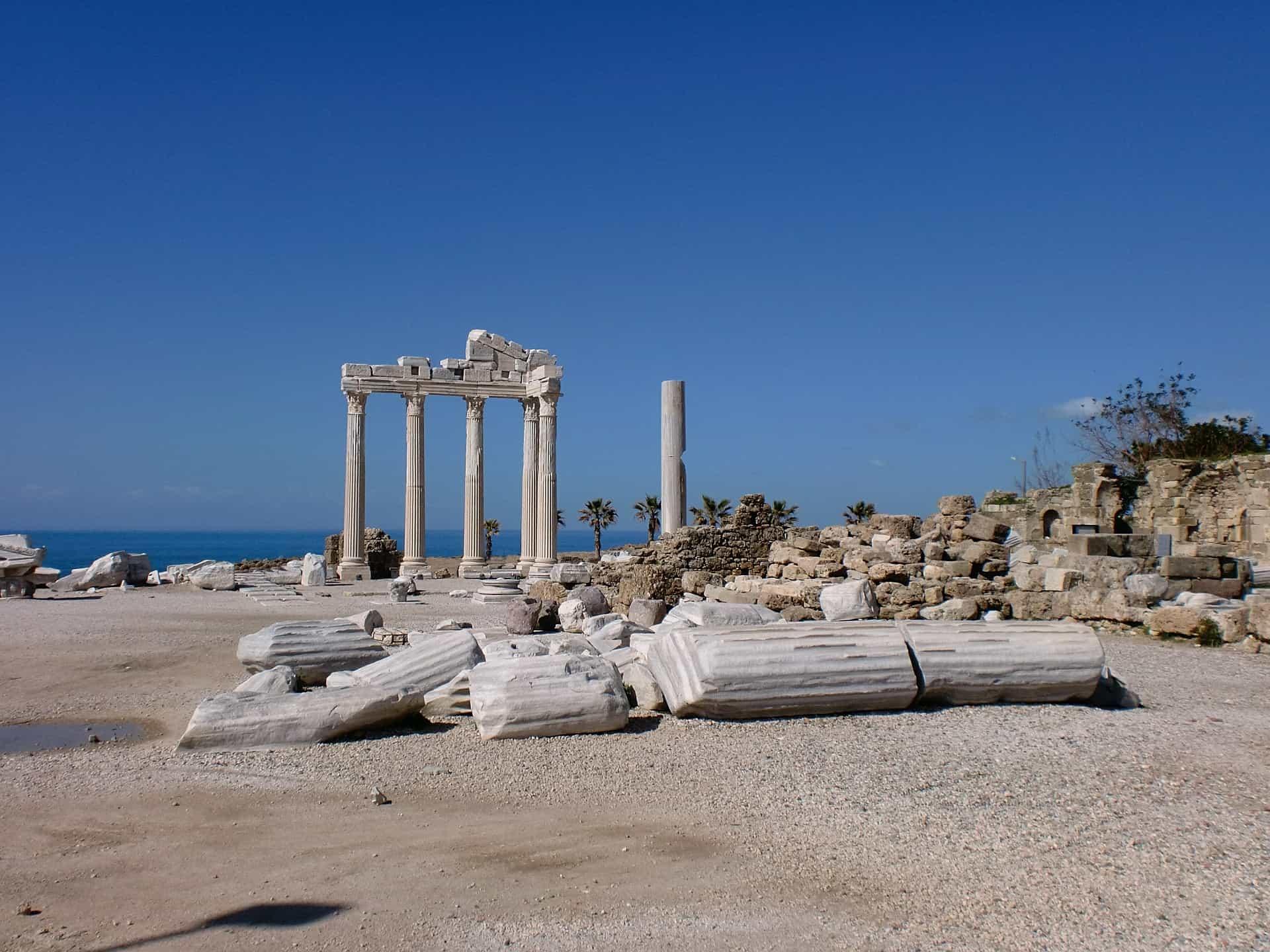 Zahlreiche Ruinen aus der Zeit der Römer befinden sich in Alanya
