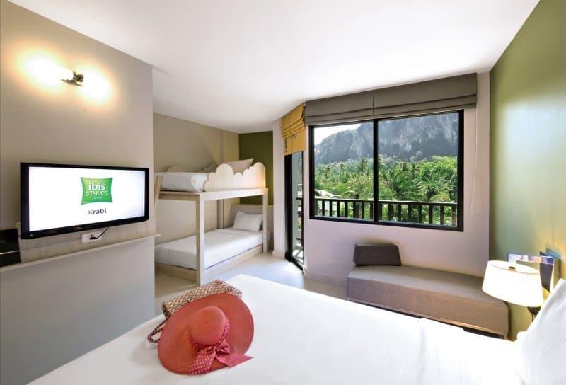 Zimmer im Ibis Styles Krabi Ao Nang