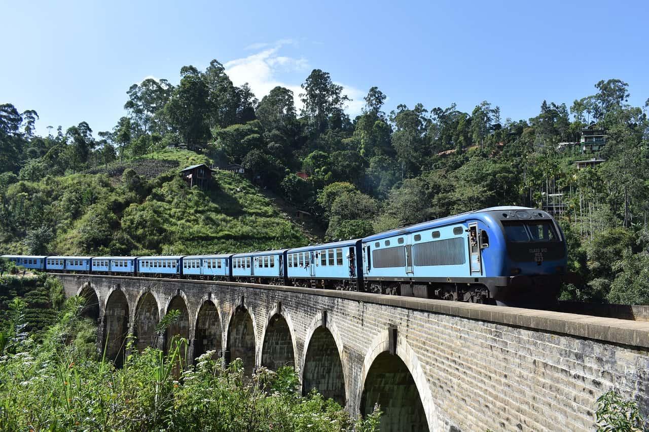 Zur Hauptsaison müsst Ihr ein Zugticket für die Kandy Route im vorraus buchen