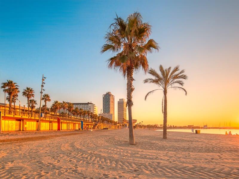Barcelona erster halt der Kreuzfahrt