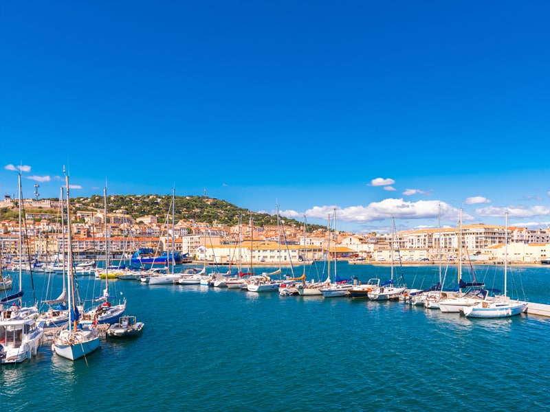 Sete die beliebte Hafenstadt