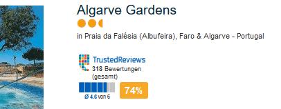 Algarve Gardens die günstigste Unterkunft
