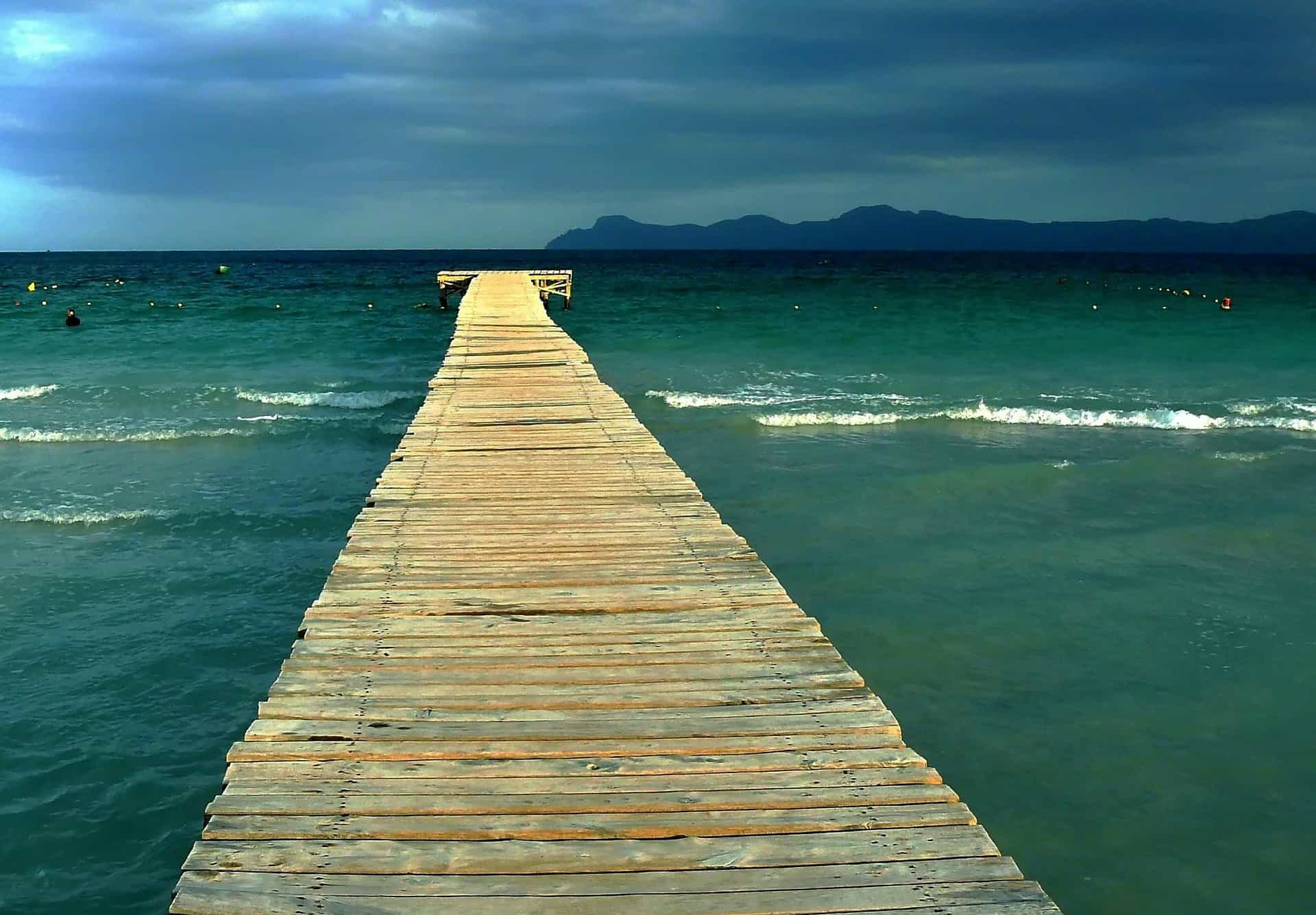 Balearische Meer im Osten der Insel ist es am schönsten