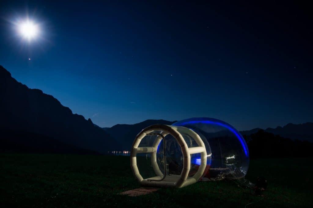 Bubble Hotel Dournazac ab 82,50€ p.P außergewöhnlich Übernachten
