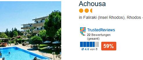 Günstiges Hotel in Falikraki - Auszeit schon ab 93,00€ möglich